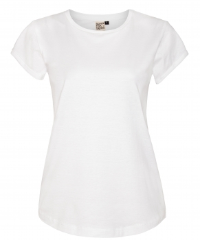 Organic Women Basic T-Shirt _ white ILK02
