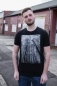 Preview: Forest Men T-Shirt aus Biobaumwolle ILP06 - black