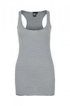 Ladies Tank Top navy / white striped ILP02