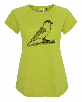 Spatz ILP04 Women Raglan Shirt _ Antique Moss