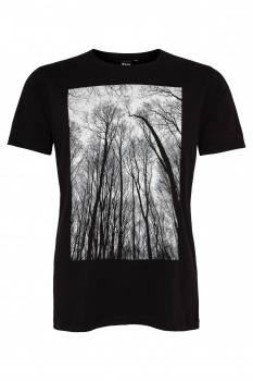 Forest Men T-Shirt aus Biobaumwolle ILP06 - black